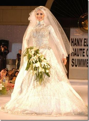 فساتين زفاف الفنانات 2014، فساتين